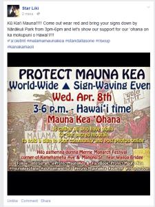 4-7-2015 sign waiving in Nanakuli
