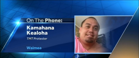 Kamahana on the phone