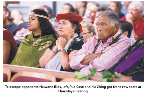 STAR ADVERTISER 8/28/15 At the Supreme Court Case where the permit for the Thirty Meter Telescope was expressly REMANDED.   RICHARD NAlWlEHA WURDEMAN was the attorney for Petitioners MAUNA KEA ANAINA HOU and KEALOHA PISCIOTTA; CLARENCE KUKAUAKAHI CHING; FLORES-CASE OHANA; DEBORAH J. WARD; PAUL K. NEVES; AND KAHEA: THE HAWAIIAN ENVIRONMENTAL ALLIANCE, a domestic non-profit Corporation